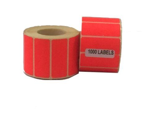Dayglo Labels -60mmx25mm