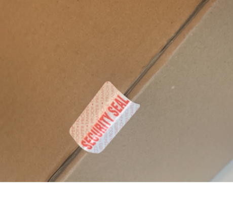 Tamper Evident Labels 2